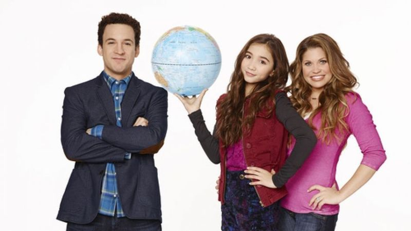 Girl meets world take on the world
