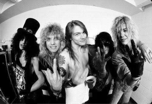 Back In The U S S R  - Guns N' Roses | Mega Lyrics NET